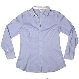 H&M Cotton Blend Tailored Dress Shirt - size 12